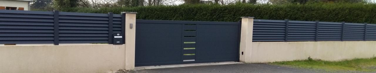 clôture et portail alu