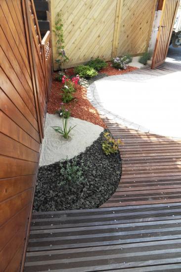 aménagement d'un petit jardin de ville